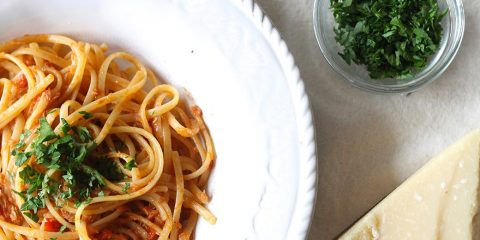 Špagete sa tunjevinom
