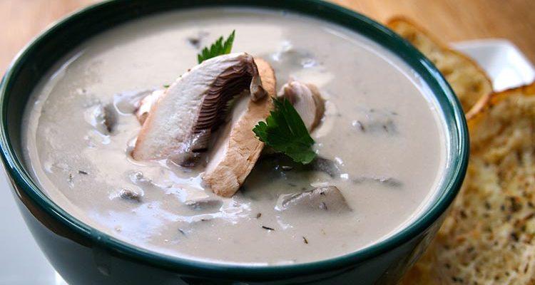 Krem supa s pečurkama
